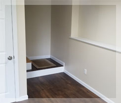 Interior Basement with Rameau Remodeling
